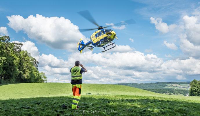 Rettungshelikopter EC135