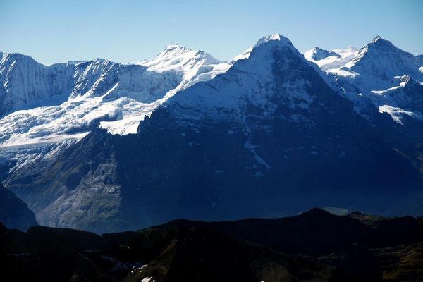 Berner Oberland Eigernordwandflug