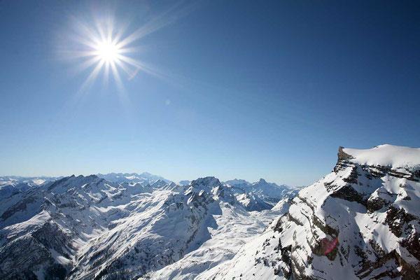Alpenrundflug Refuge ab Gstaad-Saanenland