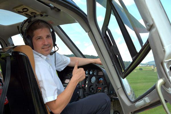 Regionaler Rundflug Sion Pilot