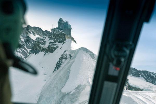 Cockpit Jungfraujoch