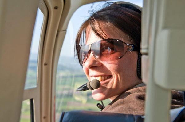 Cockpit Fluggast Jet Ranger