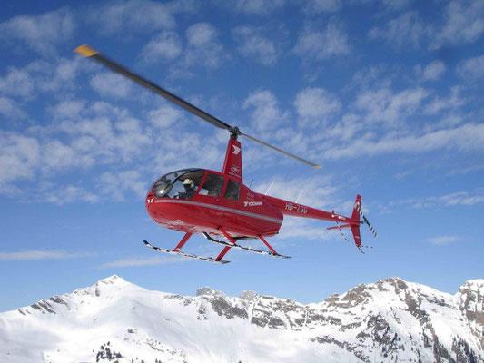 Helikopter selber fliegen ab Luzern Beromünster