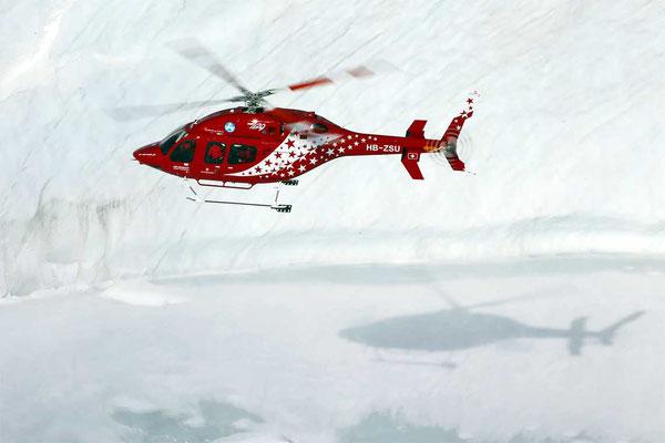 Air Zermatt Raron Gletscherflug