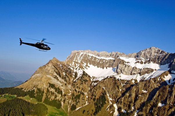 Helikopter Rundflug ab Basel