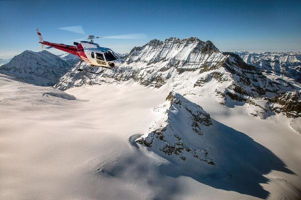 alpenrundflug Jungfraujoch