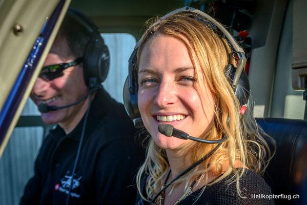 Helikopter selber fliegen macht Spass