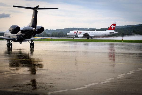 Flugplatz Rundfahrt Flugzeugstart