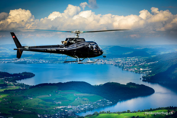 Helikopterflug