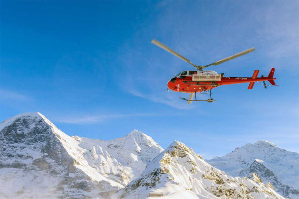 Helikopterrundflug Gsteigwiler