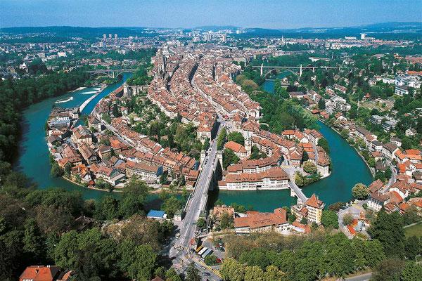 Bern City von oben