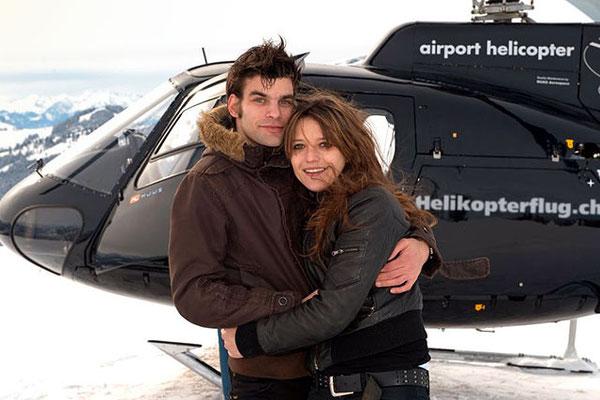 Helikopter Alpenrundflug Fluggäste
