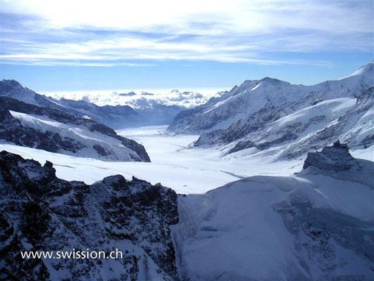 Jungfraujoch Hubschrauber Rundflug Luzern