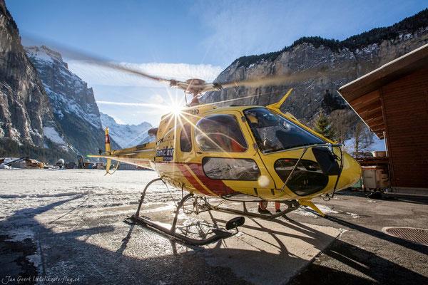 Helikopterflug ab Lauterbrunnen