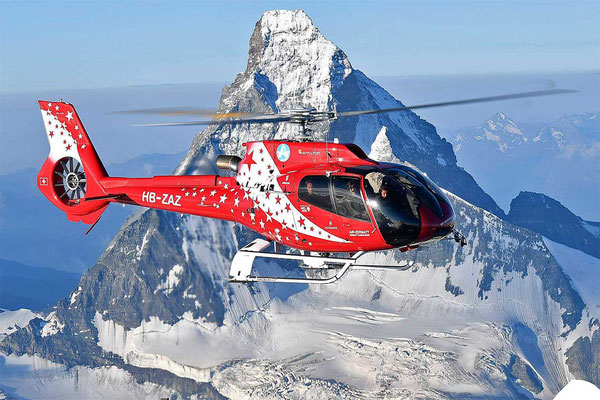 Matterhorn Helikopterrundflug ab Raron