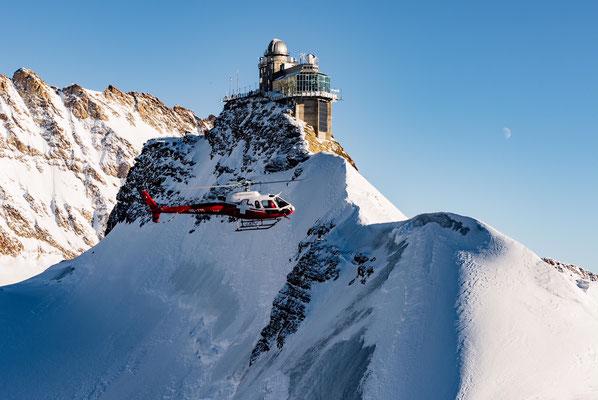 Jungfraujoch Helikopter
