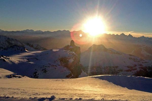 Helikopterrundflug zum Refuge ab Gstaad-Saanenland