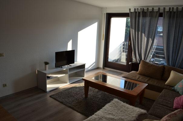 Wohnzimmer und TV Gerät