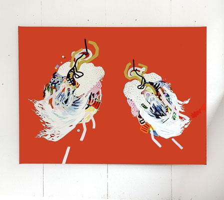 midi, 2021, 135 x 185 cm, Ölfarbe auf Leinwand