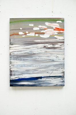 felt, 2017, Ölfarbe auf Leinwand, 50 x 40 cm