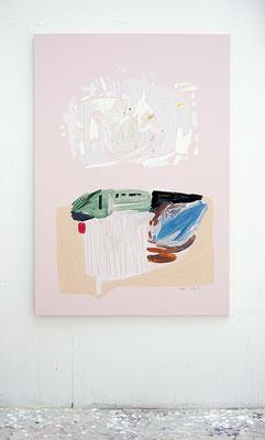 nim, 2016, Öl- und Acrylfarbe auf Leinwand 130 x 90 cm - Privatbesitz