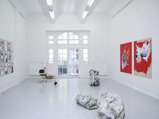 Ausstellungsansicht; Foto: Gustav Franz