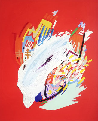 skylla, 2020, Ölfarbe auf Leinwand, 90 x 80 cm