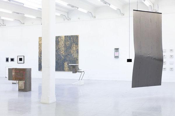 Arbeiten v.l.n.r.: Mattes Fischer, Julia Eichler, Hanna Sass, Paula Schneider, Lasse Pook und Katja Neubert; Foto: Gustav Franz