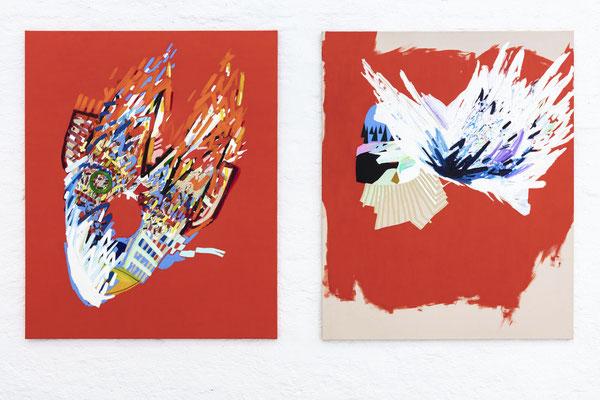"""wingman"" + ""solid wave"" von Susanne Henny Kolp; Foto: Gustav Franz"