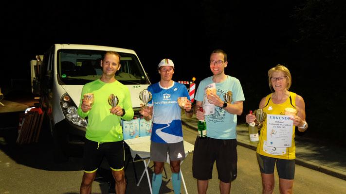 Die Marathon-Sieger