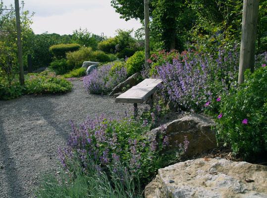 Meditation und Entspannung im Garten