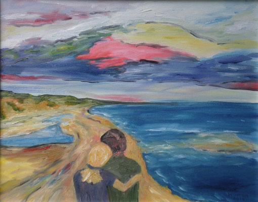 """""""Die Andern sind das weite Meer. Du aber bist der Hafen."""" (M.Kaleko)"""