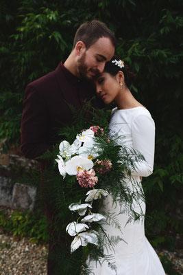 Par Victor Peruchon ; Fleuriste mariage Green Mariage Mariage Ethique Mariage Luxe Mariage Bohème Mariage Dordogne Lyon Bordeaux Limoges Wedding Planner