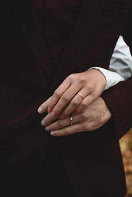 Par Victor Peruchon ; Alliances mariage Green Mariage Mariage Ethique Mariage Luxe Mariage Bohème Mariage Dordogne Lyon Bordeaux Limoges Wedding Planner