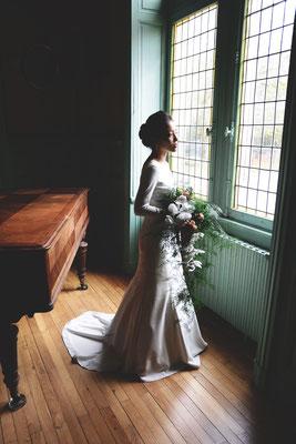 Par Victor Peruchon ; Mariée classe Green Mariage Mariage Ethique Mariage Luxe Mariage Bohème Mariage Dordogne Lyon Bordeaux Limoges Wedding Planner