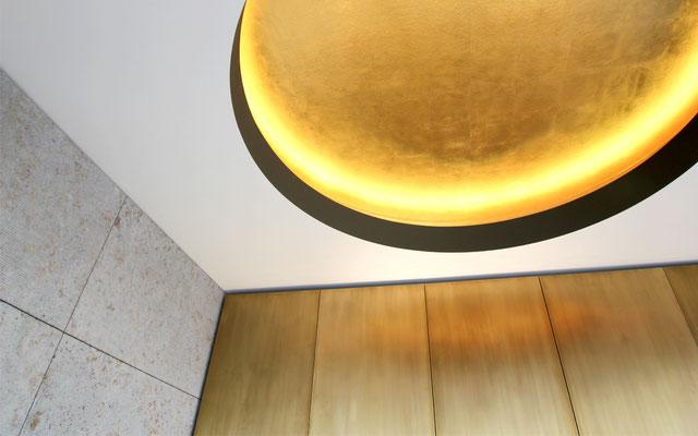 Gold Tapete Welter Textur3 Hürth Köln Maler Malermeister Thorsten Rosenberger Maler des Jahres Design