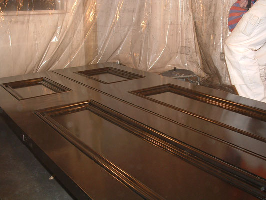 Malerarbeiten Textur3 Türen lackieren