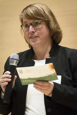 Nicole Beckmann, Leiterin des Referates Wirtschaft - Arbeit - Soziales