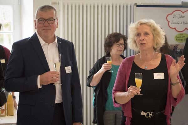 Hartmut Schneider und Christina Meibohm