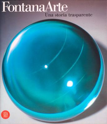 Una storia trasparente FontanaArte, copertina - Skira