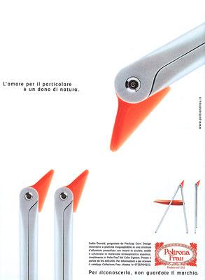 Poltrona Frau - advertising
