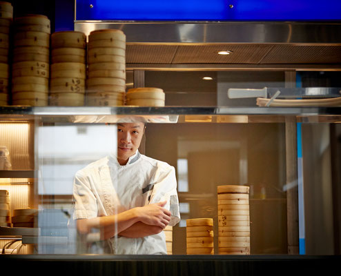 Dim Sum - ritratto chef