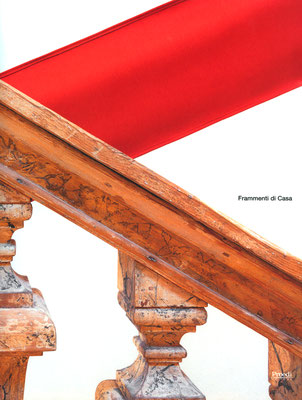 Frammenti di casa, copertina e foto interne - Proedi editore
