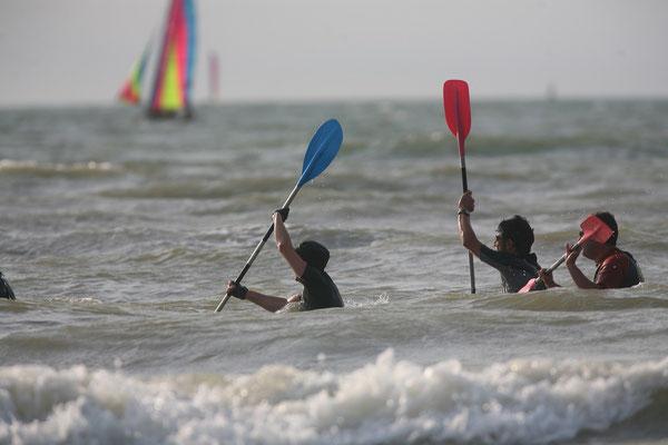 Pause weekend Grands sites de France pratiquer le longe cote Bray Dunes