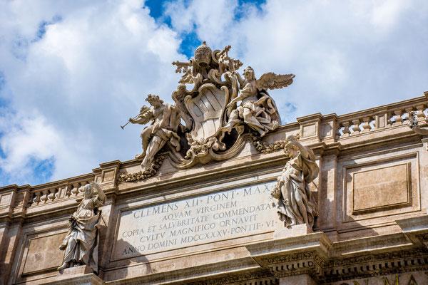 Trevi-Brunnen, Rom 2017