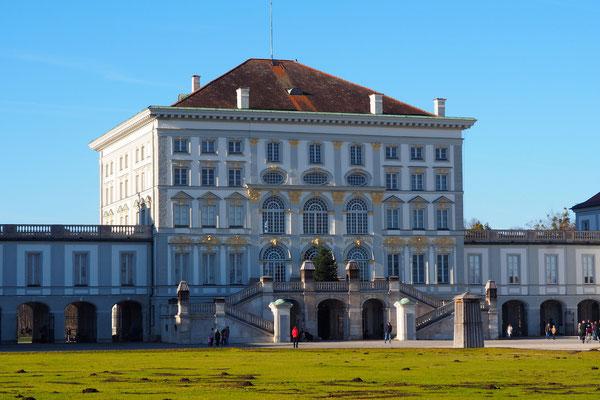 Schloss Nymphenburg in München 20. Dezember 2015