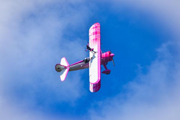 46 Aviation Wingwalker Emiliano & Danielle Del Buono - Dittinger Flugtage 2018
