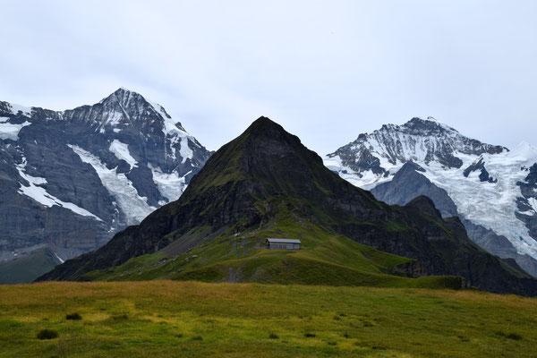 Auf dem Weg zur Eiger Nordwand