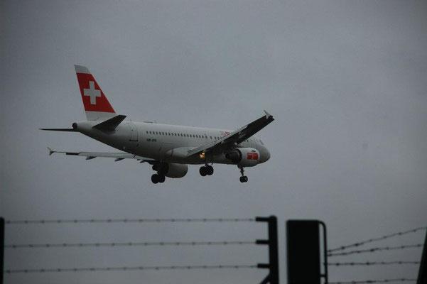 Im Landeanflug auf den Runway 14