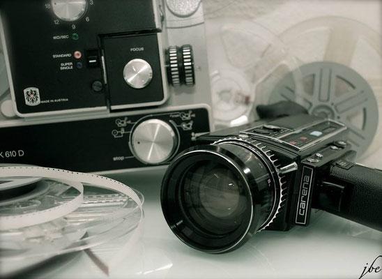 Carena 7510M Super 8 Kamera und Super 8 Projektor